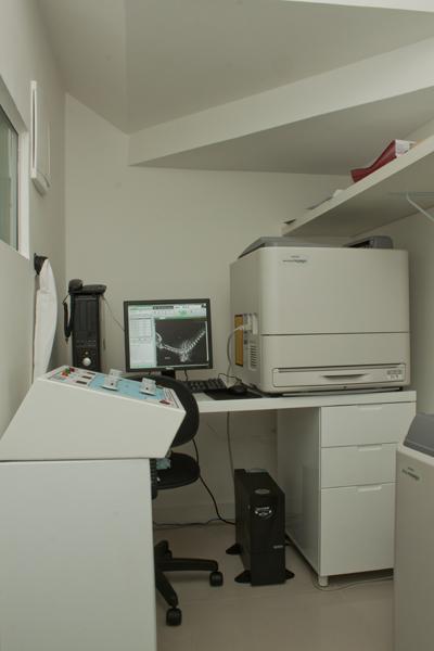 Sala de Radiologia Digital – Processamento das imagens